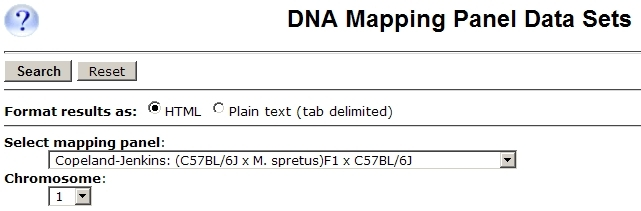 Mapping Panels Query Form